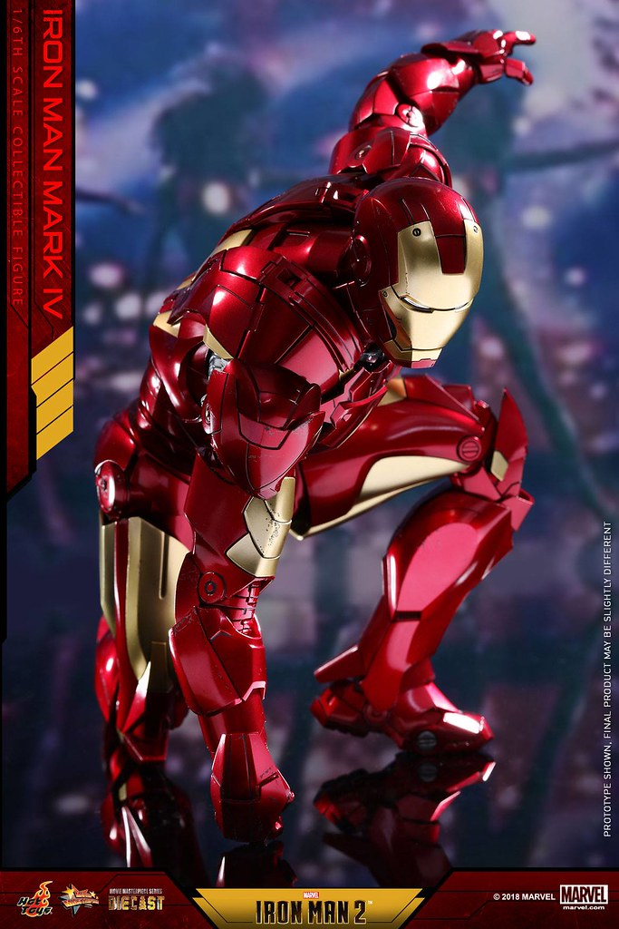Hot Toys - MMS461D21 - 《鋼鐵人2》鋼鐵人馬克4 Iron Man 2 Mark IV 1/6 比例合金人偶作品
