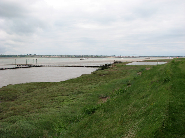 Old Oyster beds near East Mersea