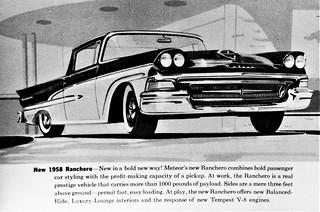 1958 Meteor Ranchero