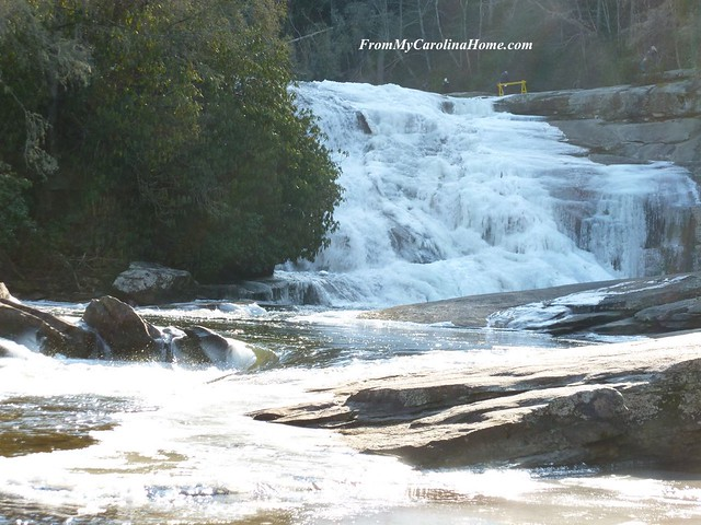Triple Falls Winter 2018 Freeze at From My Carolina Home