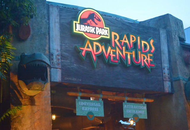 Must-Rides in Universal Studios Singapore jurassic park rapids adventure