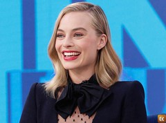 Margot Robbie Finds a Severed Human Foot on the Seashore