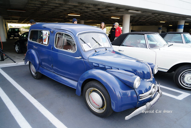 1951 Panhard Dyna Break at Petersen Automotive Museum Breakfast Club Cruise-In