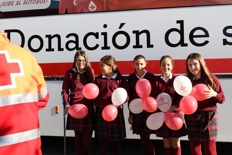 Donación de sangre y Los Secretos