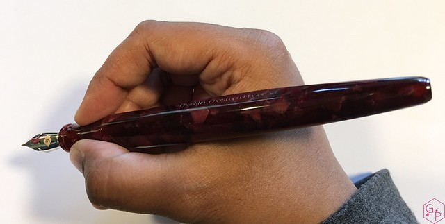 Review Franklin-Christoph Model 66 Fountain Pen Needlepoint Nib @1901FC 13