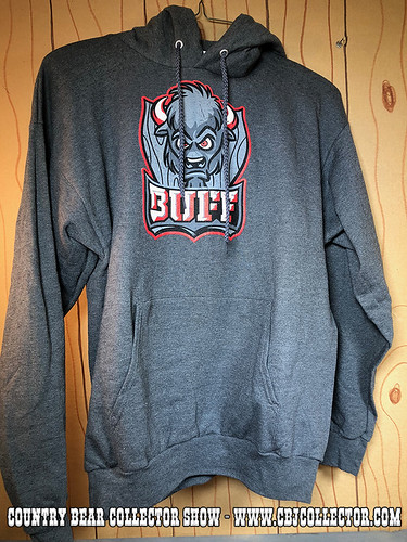 2017 Disney Fantasyland Football Buff Sweatshirt - Country Bear Collector Show #133