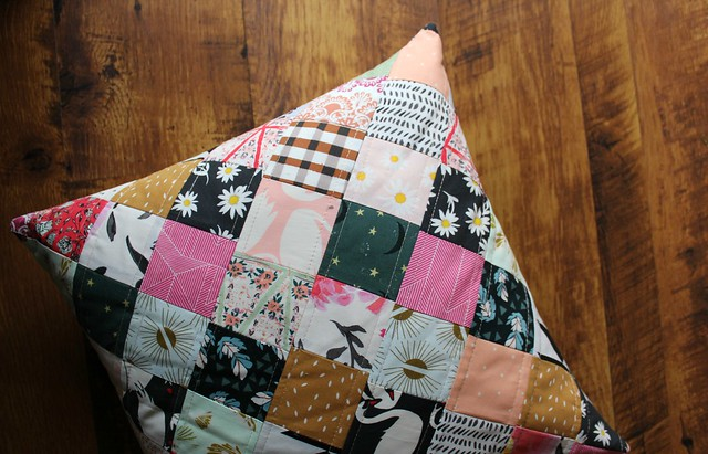 Swan Inspired Patchwork