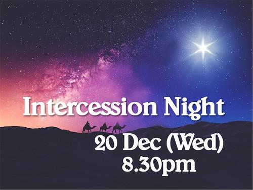 intercession night dec 20