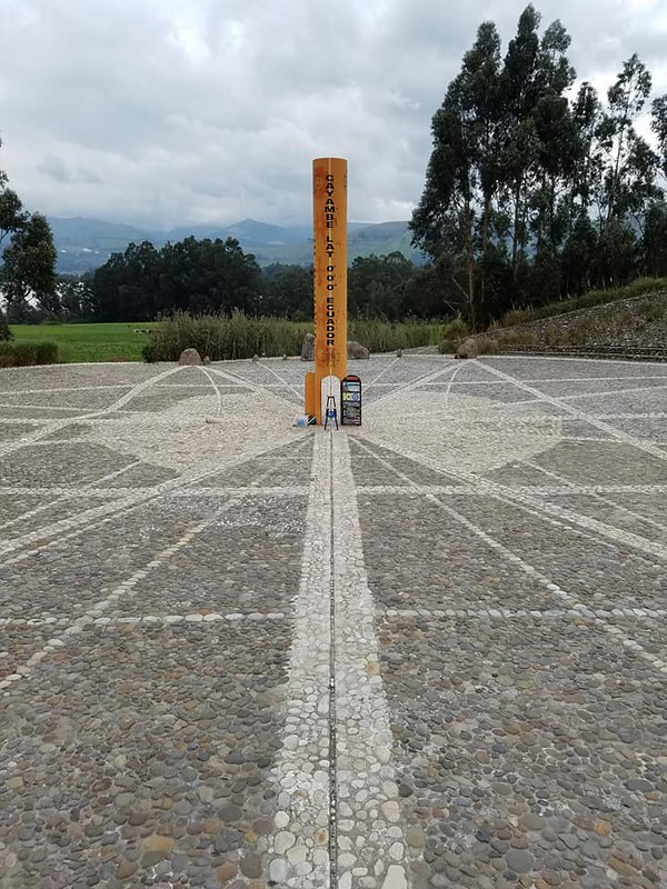 Cayambe • Sundial on the Equator