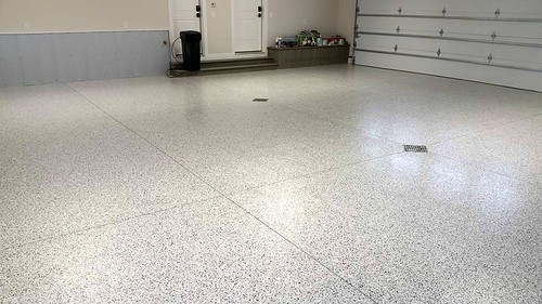 Quicksilver Blend Epoxy Garage- Houston, TX