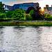River Ness (Abhainn Nis) Inverness Scotland .