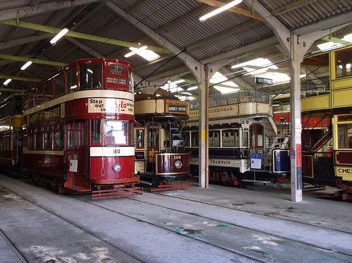 In the depot