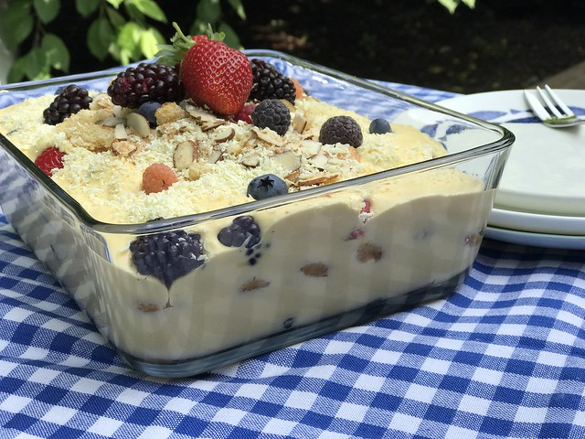 Lemon & Berry Tiramisu