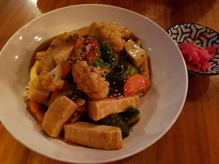 Teriyaki Tofu from Yong Green