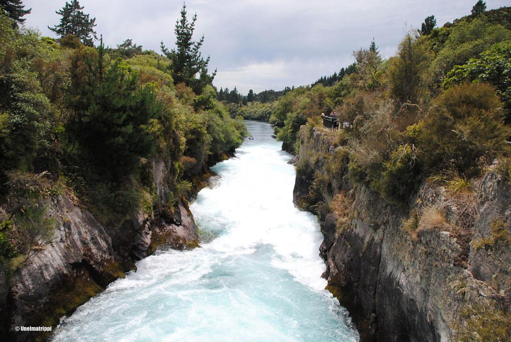 Huka Falls, Taupo, Uusi-Seelanti
