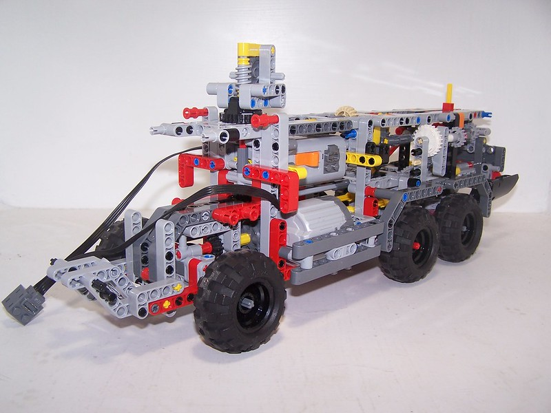 Mod 42068 Airport Rescue Vehicle Mods And Improvements Lego
