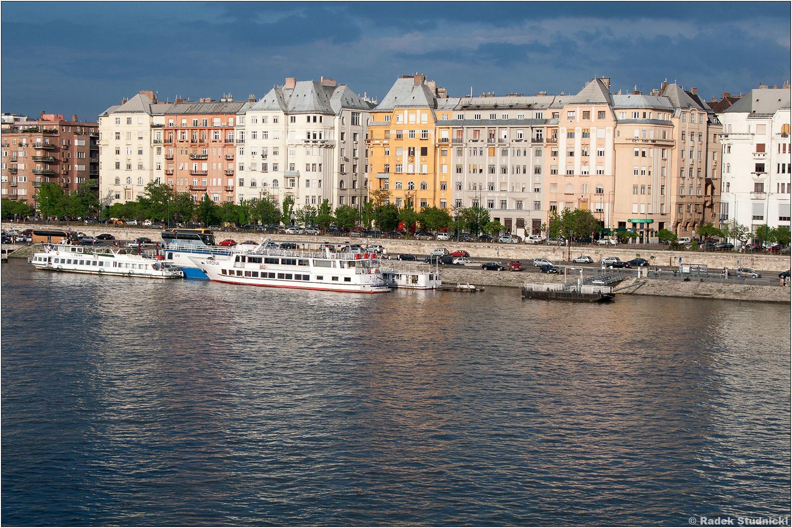 Wybrzeże Dunaju w Peszcie