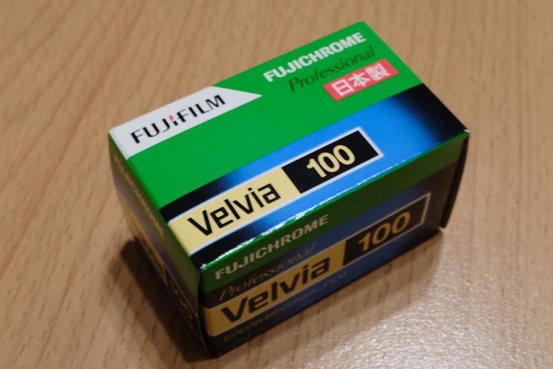 FUJIFILM Velvia100