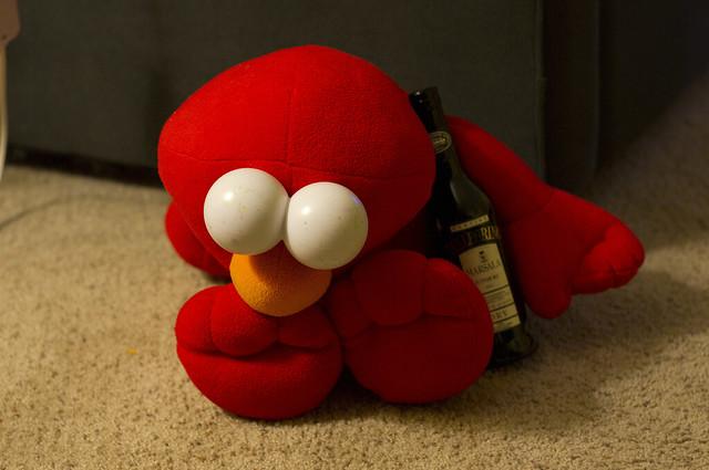 Elmo's bender