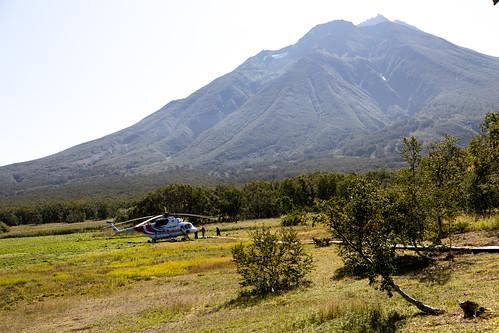 Khodutkas hot springs, Kamchatka