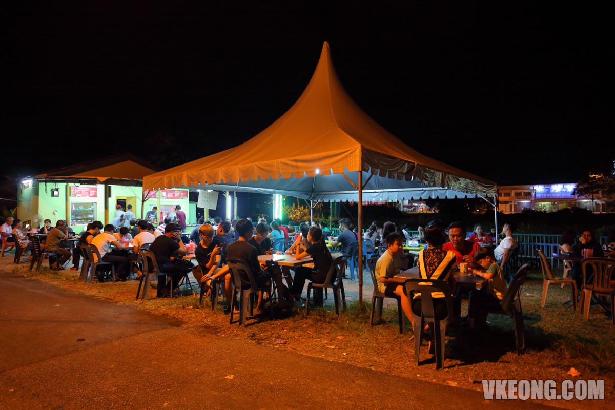 Melaka-Kampung-Enam-Roti-Canai-Stall