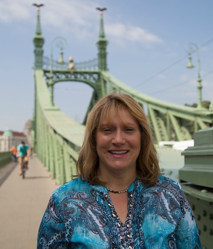 Author Lisa Overman in Budapest. From Healing Through Love: The Journey of Rediscovering Joy