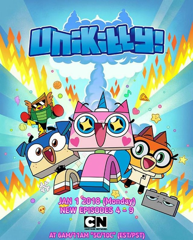 LEGO Unikitty na Cartoon Network