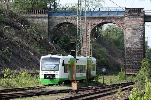 Erfurter Bahn: VT 007 in Eichenberg