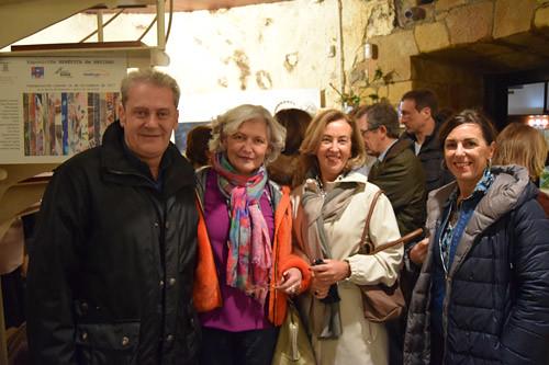Ricardo Valencia, Miriam del Toro, Cristina Sabin y María Uribe