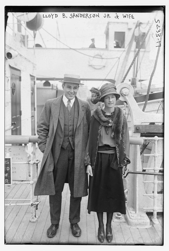 Lloyd B. Sanderson Jr. & wife (LOC)