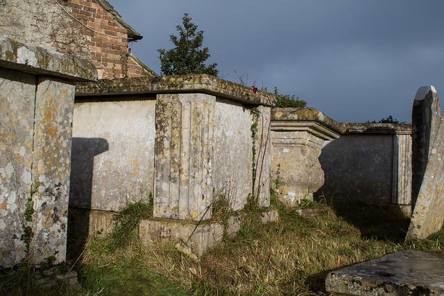 Table tombs, Broadmayne Churchyard