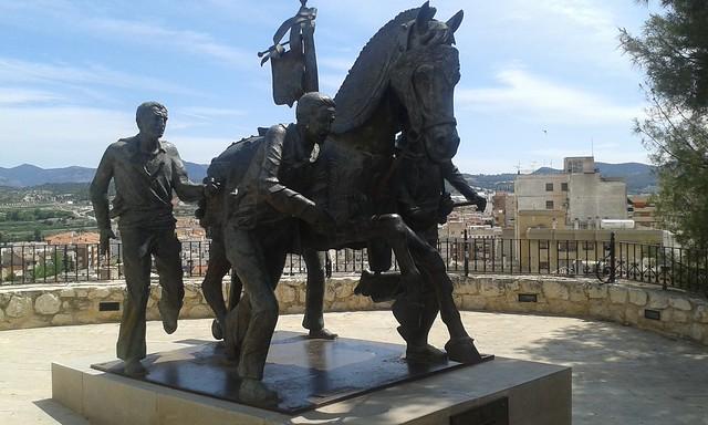 Monumento de los Caballos del Vino
