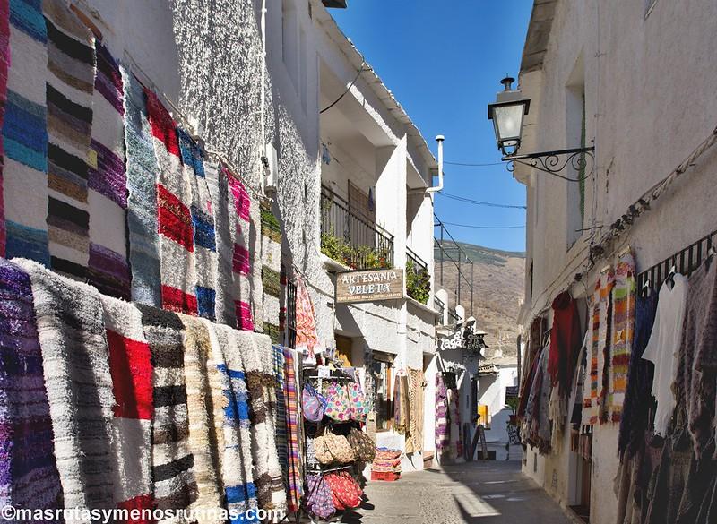 Ruta en coche por la Alpujarra de Granada - Más rutas y menos rutinas