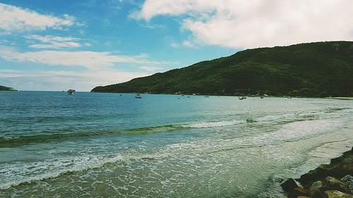 Praia do Santinho. Fo Florianópolis/SC.