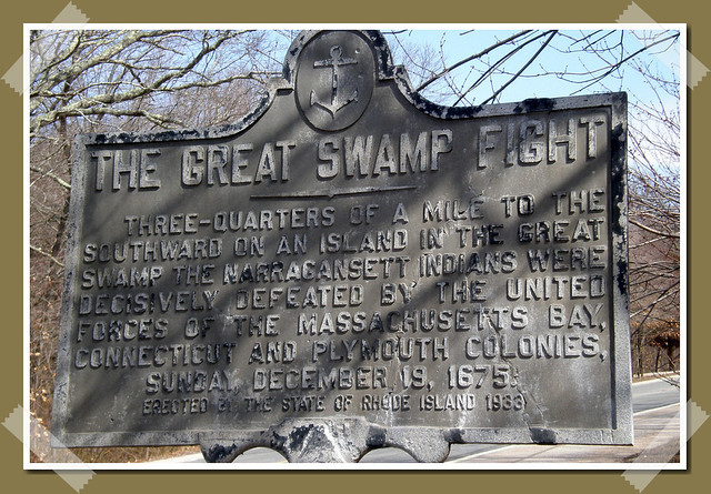 The Great Swamp Massacre Site