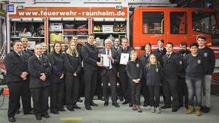 Feuerwehr des Monats Dez. 2017 - Raunheim