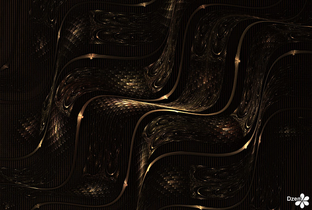 Copper Wave Weave