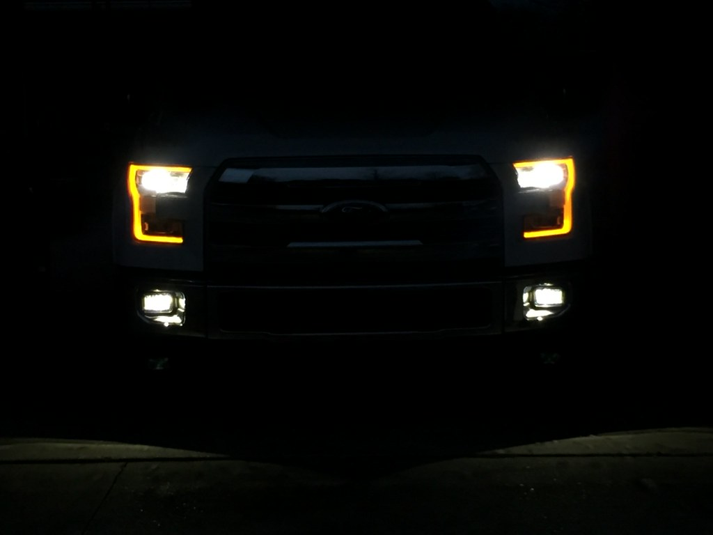 New fog light Sunday