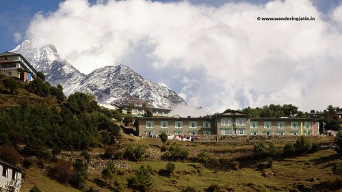 Scenes at Namche
