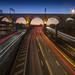 Stockport Viaduct Light Trails