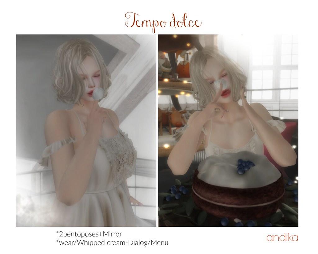 andika[Tempo dolce]bento pose Fat-AD - TeleportHub.com Live!