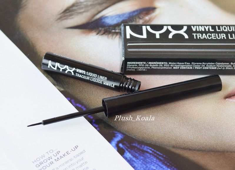 NYX Professional Makeup Vinyl Liquid Liner Plush Koala Blog 2