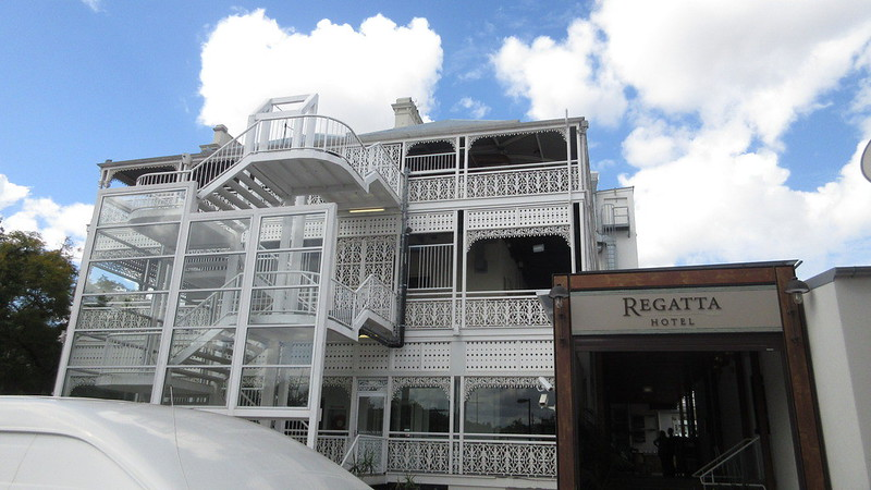 Regatta Hotel Brisbane Landmark