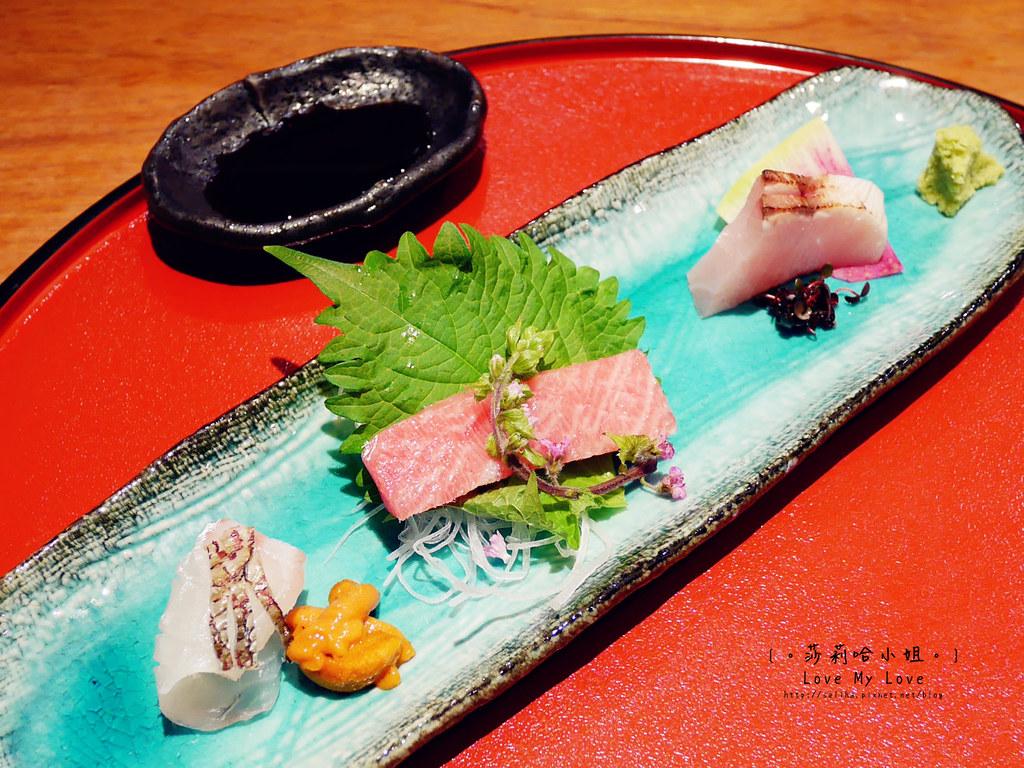 光琳割烹日本料理大安店生魚片