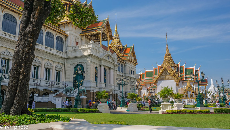 Palacio Real Wat Phra Kaew, Bangkok