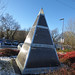 Selly Oak Station - Pyramid sculpture