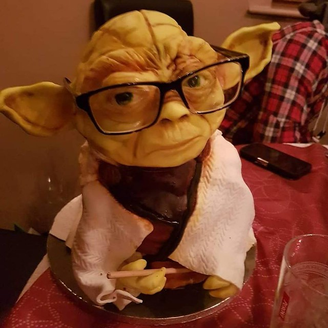 Yoda by Hazel Clark of Sinfully Sweet