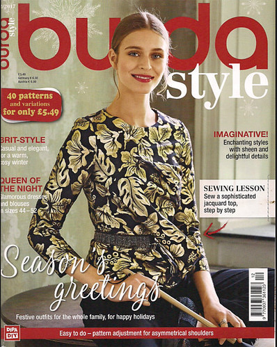 Burda cover Dec 2017