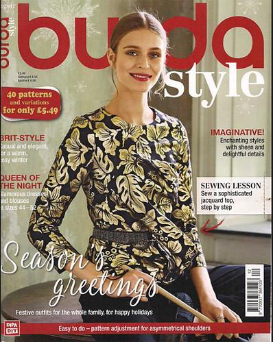 Burda cover Dec 2017