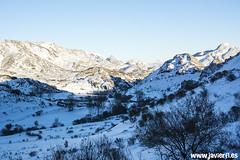 Viadangos bajo la nieve